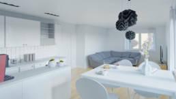 Interiorvisualisierung - Apartment Interior
