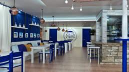 Interiorvisualisierung - Caffee B Greek