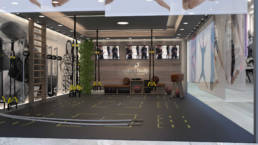 Interiorvisualisierung - Gym Lounge Vision Body