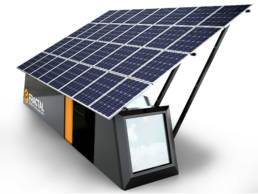 3D Product Visualisierung - Solar Panel Fractal