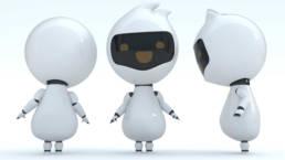 Illustration KI Robot