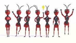 Illustration - Mascot Character Mascot Antsle