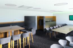 Innenarchitektur - Büro Visualisierung